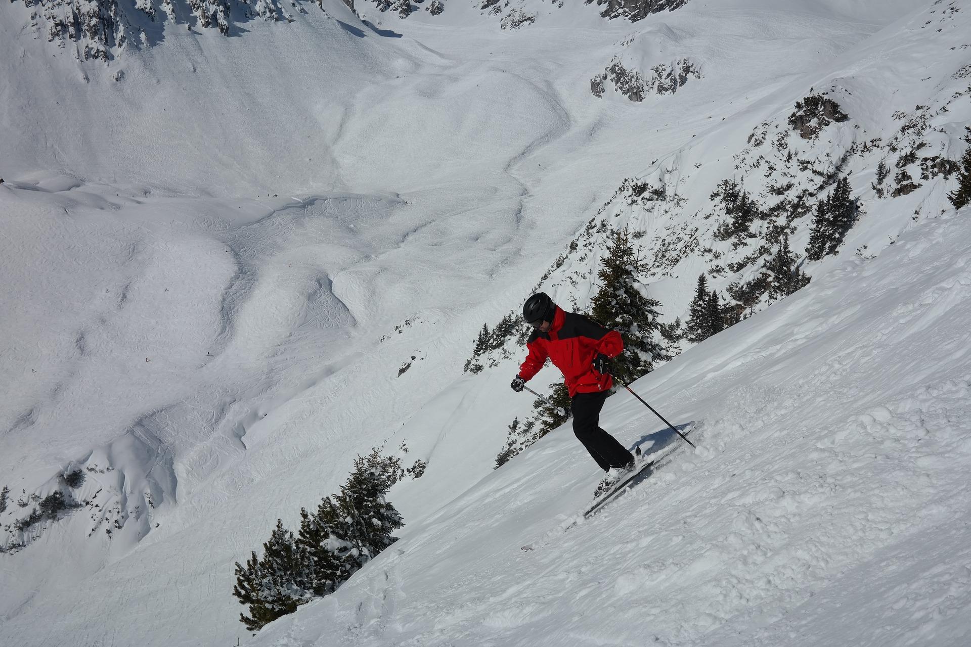 スキー場の画像